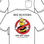 Bee Busters Bee Removal Shirts